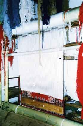 Tissage de tapis Metier_tisser